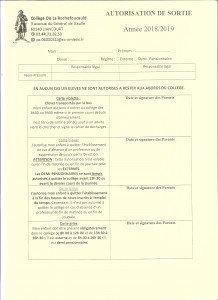AUTORISATION DE SORTIE - CARTES VIOLETTE BLEUE JAUNE GRISE 001