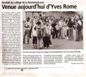 Venue aujourd'hui d'Yves Rome 001